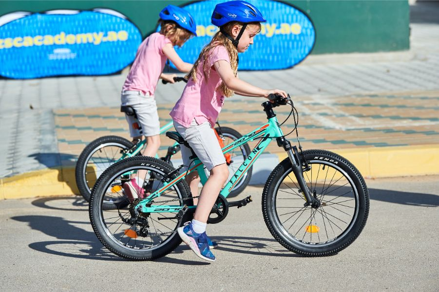 Cycling activities at Zayed Sports City