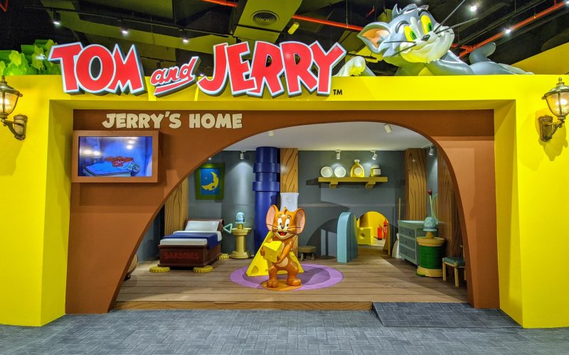 Don't miss out the Tom and Jerry cheese experience only at Ibn Batutta Mall
